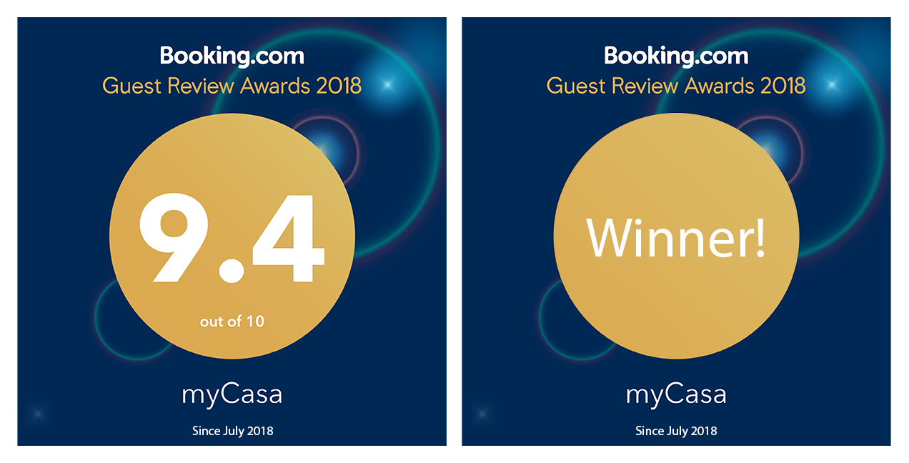 9.4 Guest Reviews Awards 2018